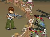 Ben 10 Kills Zombies
