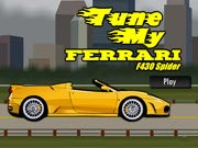 Tune My Ferrari F430 Spider