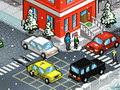 Winter Traffic Policeman
